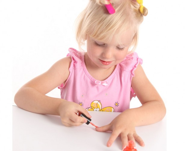 pamper parties for kids nails