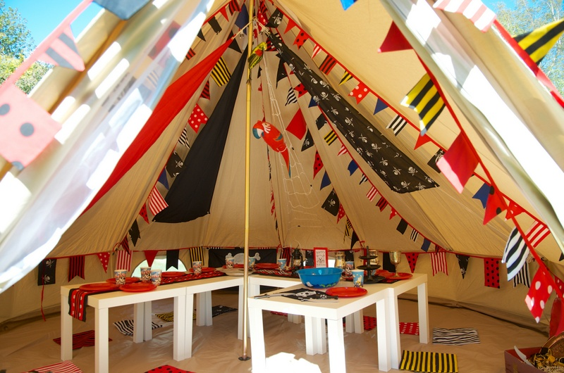 Party Bell Tent