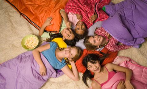 kids slumber party